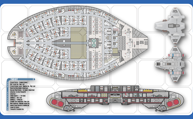 Cydonia 6 ink starship blueprints and deck plans sciox Image collections